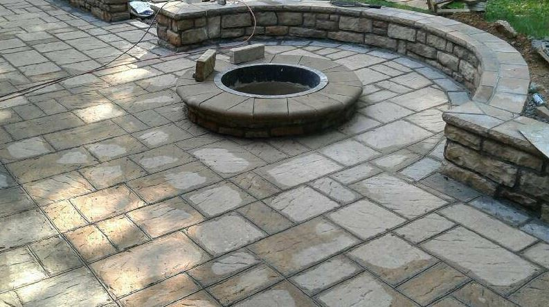 stamped-concrete-being-replaced-in-carmel